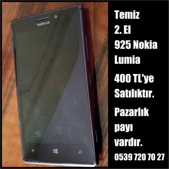 925 Nokia Lumia ilanları, nokia ilanları, satılık nokia