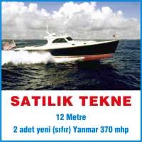 satılık tekne, 12 metre tekne ilanları, yanmar 370 mhp tekne ilanları, yanmar tekne 12 metre satılık, satılık yanmar tekne ilanları, sıfır tekne, sıfır yanmat tekne, sıfır yanmar 12 mt tekne ilanları