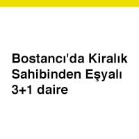 Bostancı'da Kiralık Daire, bugünkü posta ilanları, postaseriilan.com
