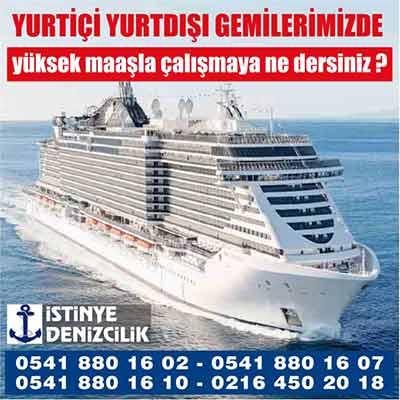 İstinye Denizcilik - İş ilanı, istanbul vasıfsız iş ilanları